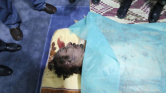 Putra Khadafi, Mo'tassim Turut Tewas