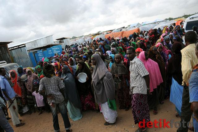 Memasak untuk Pengungsi Somalia