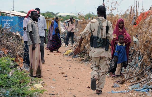 Jasa Pengawalan Bersenjata di Somalia