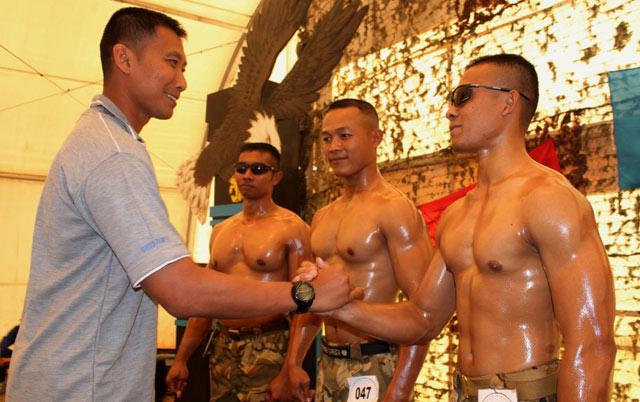 Lomba Binaraga Prajurit TNI