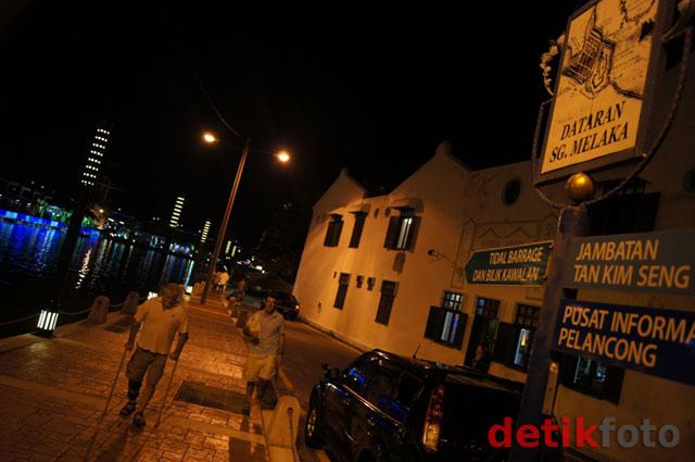 Temaram Nan Romantis di Kota Melaka