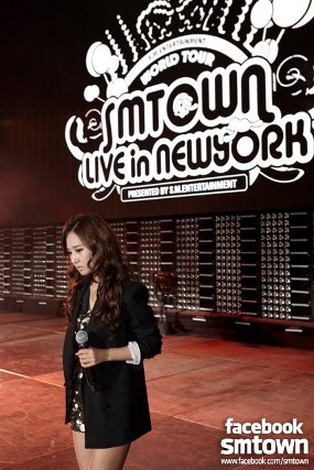 SNSD 'SM Town Live World Tour in NYC 2011'