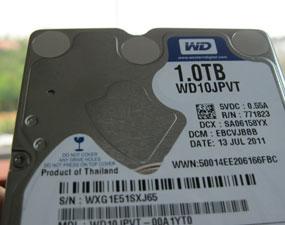 WD Scorpio Blue 1TB, Hardisk Lapang untuk Laptop