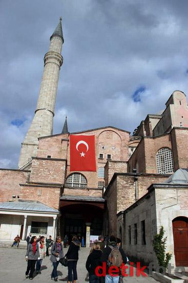 Mengunjungi Museum Hagia Sophia
