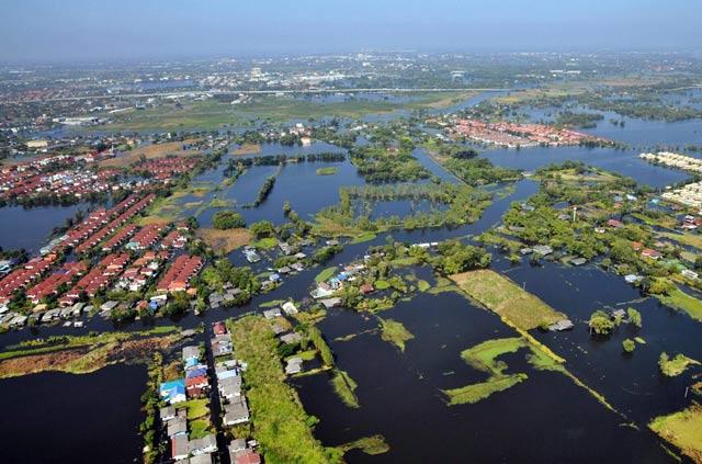 Banjir Thailand Dari Udara