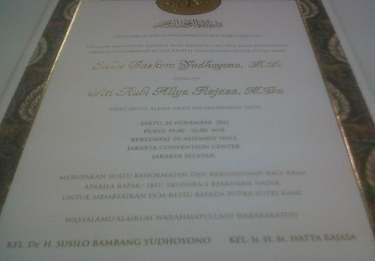 GELAR PERNIKAHAN IBAS ALIYA, Undangan Pernikahan Ibas-Aliya, Undangan ...