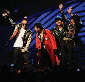 BIG BANG RAIH PENGHARGAAN WORLDWIDE ACT MTV EMA 2011
