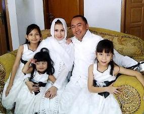 FOTO WISHNU CHANDRA DAN LEENDA HARAHAP