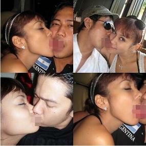 Foto Anita Hara Ciuman Bibir dengan Pacar