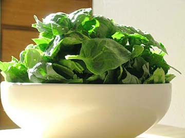 Spinach Strengthen Power Concentration