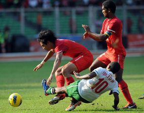 VIDEO INDONESIA VS THAILAND YOUTUBE GOL SEA GAMES 2011
