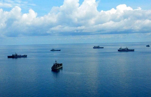 TNI AL Gelar Latihan Perang di Sangatta