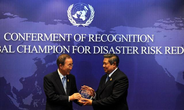 Sekjen PBB Beri Penghargaan SBY