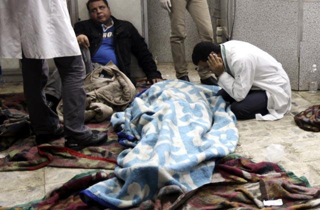 Demonstran dan Polisi Mesir Bentrok