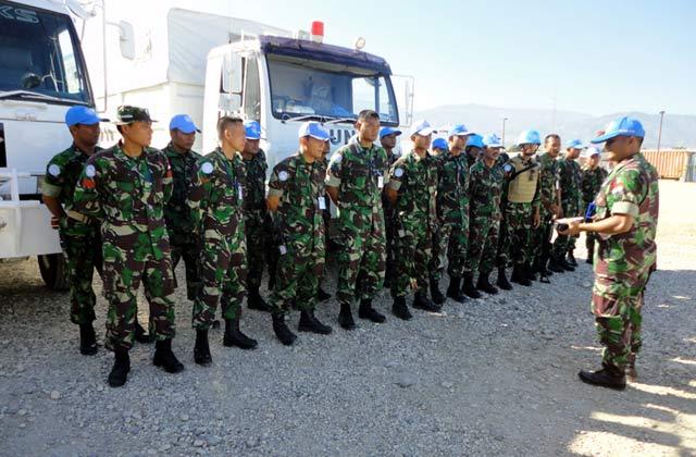 Polisi Militer Indonesia Polisi Militer Minustah