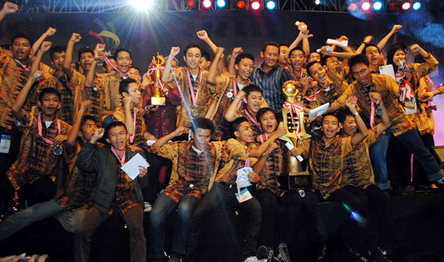 DKI Jakarta Juara LKS SMK Tingkat Nasional