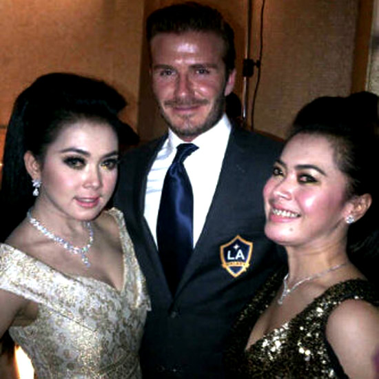 Gambar Foto Syahrini Private Party Bareng David Beckham Mesra Pelukan Hot
