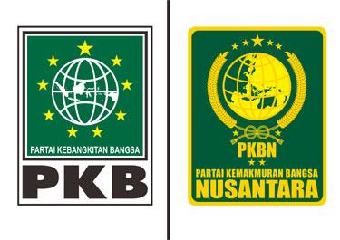 Logo PKB vs Logo PKBN