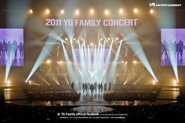 Meriahnya '2011 YG Family Concert'