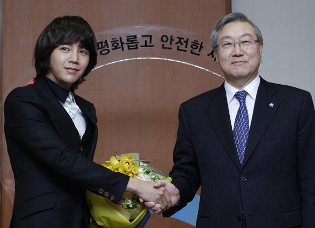Jang Geun Suk Jadi Duta Nuklir Korea
