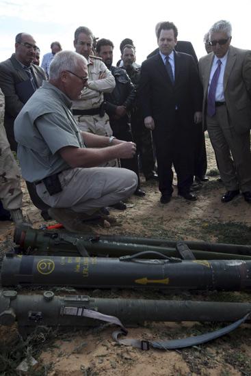 Senjata Eks Rezim Khadafy Dimusnahkan