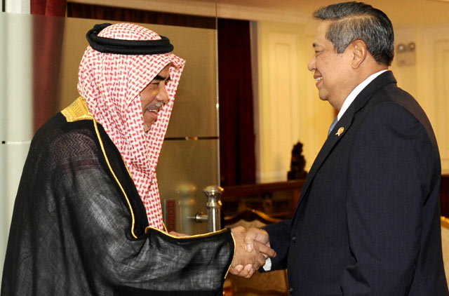 Dubes Arab Saudi untuk Indonesia Pamit