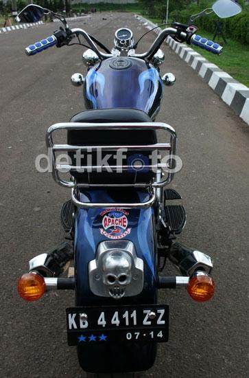 Motor Chooper dari India