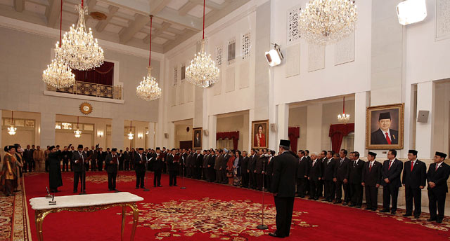 SBY Lantik Abraham Cs