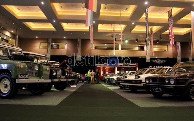 Pameran Mobil Klasik Digelar di Kemayoran
