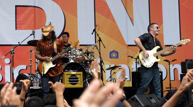 Puluhan Musisi Meriahkan Jakarta Blues Festival