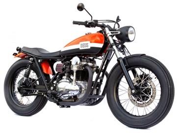 motor modifikasi retro terbaru