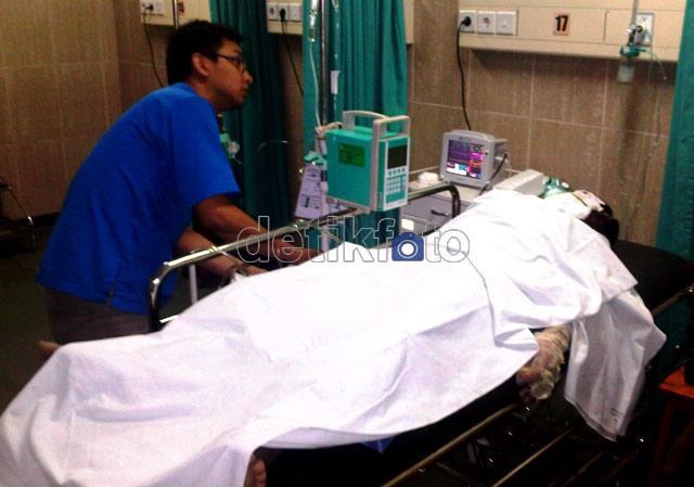 PNS Polresta Samarinda Dibakar Suaminya