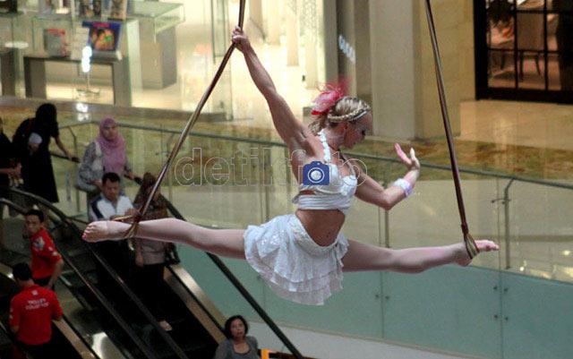 Gemulai Nan Tegas Si Balerina di Udara
