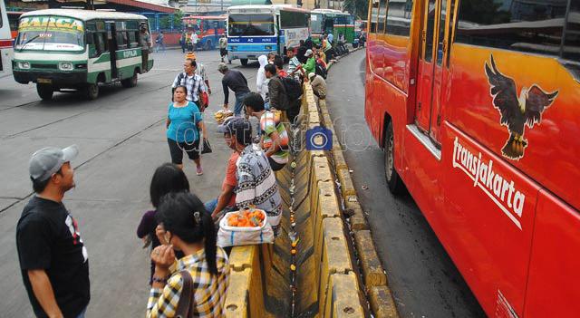 Terminal Bus Blok M Bersolek