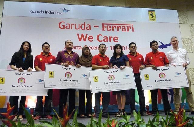 Garuda-Ferrari Peduli Yatim Piatu