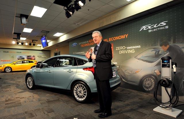Ford Focus Listrik