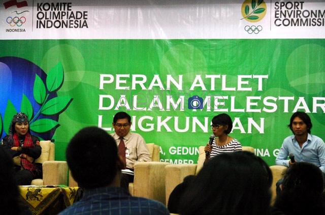 Ully Rusady Ajak Atlet Lestarikan Lingkungan