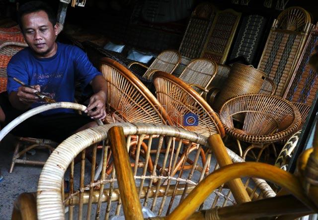 Industri Mebel dan Rotan Mulai Bergairah