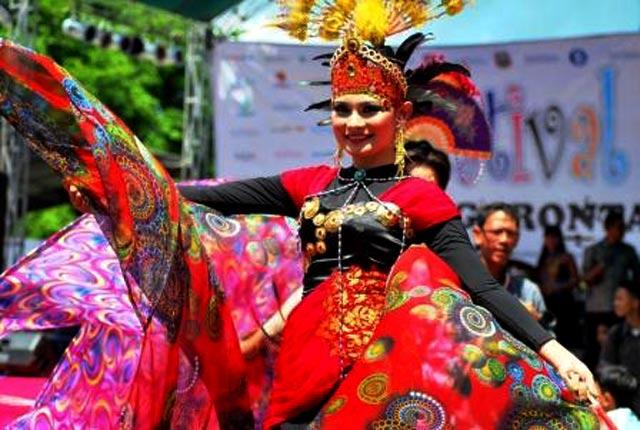 Warna-warni Gorontalo di Festival Karawo