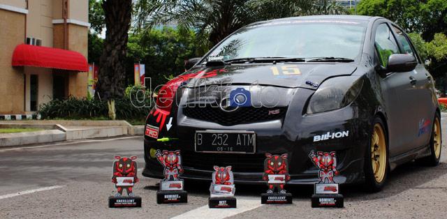 Yaris Racing ala Anak Sekolah