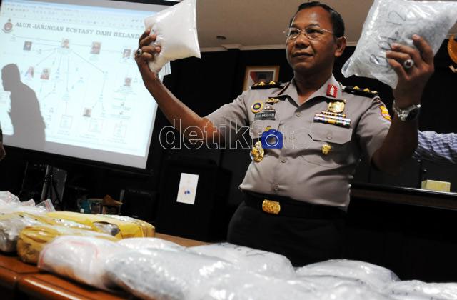 Jaringan Narkoba Internasional Dibongkar