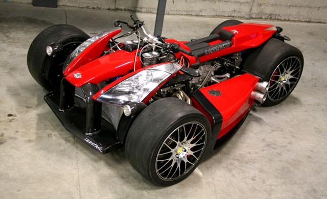Motor Kawinan Ferrari dan BMW