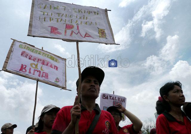 Kekerasan Polisi di Bima Panen Demontrasi
