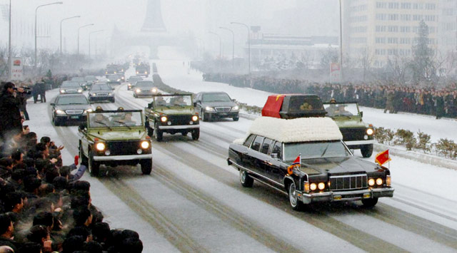 Kim Jong-il Dimakamkan