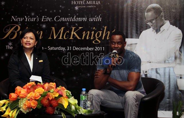 Brian McKnight Siap Konser di Jakarta