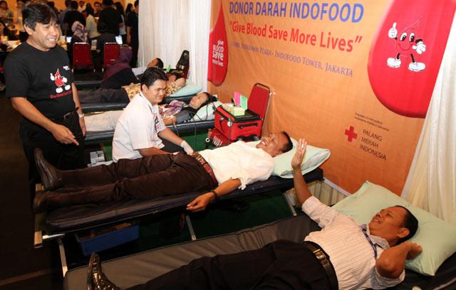Aksi Donor Darah di Penghujung Tahun