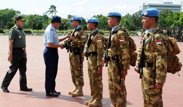 175 Prajurit TNI Kembali dari Kongo