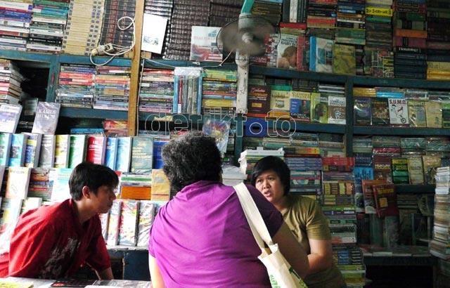 Penjualan Buku Bekas Meredup
