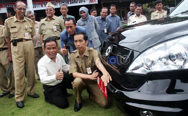 Mobil Esemka Jadi Mobil Dinas Jokowi