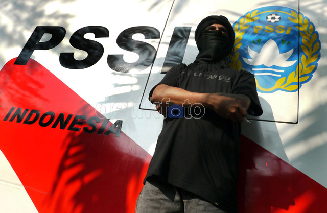 Kantor PSSI Dikepung Satgas